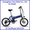 bicyclette 20inch électrique pliable de vente chaude