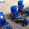 Condenseur refroidi par eau de couleur bleue, l'unité condenseur du compresseur hermétique