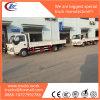 Carico asciutto Box Van Truck di Qingling Isuzu 600p