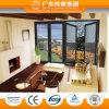 Porte de pliage en verre intérieure en aluminium en verre de type de double neuf de qualité/porte coulissante
