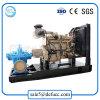 Cas de fractionnement Diesel horizontale de la pompe à eau centrifuge pour station de vidange