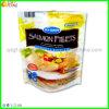 Sac en plastique refermable sacs de l'emballage alimentaire avec fermeture à glissière pour filets de saumon de l'emballage.