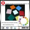 Color sólido núcleo laminado compacto junta