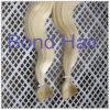 De blonde Uitbreiding van het Haar van de Huid van de Band van het Menselijke Haar van de Kleur Europese