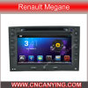 Renault Megane (AD-7091)のためのA9 CPUを搭載するPure Android 4.4 Car DVD Playerのための車DVD Player Capacitive Touch Screen GPS Bluetooth