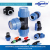 PP Compression Pipe Fittings para Irrigation