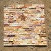 Panneaux de mur en pierre de culture d'ardoise (SMC-SCP287)