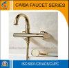 Nuevo grifo de la ducha del baño del cuarto de baño del oro 2015