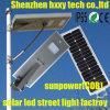 태양 조명 시설 LED 거리 태양 램프
