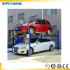 Carport eléctrico de cuatro postes; Sistema simple del estacionamiento del coche