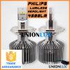 3200 farol do diodo emissor de luz do carro auto H7/H8/9005/9006 H4 do lúmen