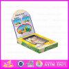 2015 giocattoli di legno di sviluppo di intelligenza dei nuovi capretti, giocattoli promozionali dei piccoli bambini, giocattolo intelligente Wj277638 del giocattolo di legno della vernice di DIY