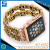 Pulsera de reloj de lujo elegante brillante de señoras para Apple Iwatch
