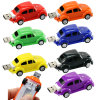 Creative alemania Coche Escarabajo Mini U disco 4GB 8GB 16 GB de memoria Flash USB 32GB USB Mini Coche Coche unidad Flash USB Memory Stick