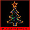Natale di festa il 2D LED calcola gli indicatori luminosi di natale decorativi