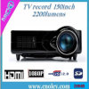 HD LED 영사기 입력 USB/DVB-T (D9HR)