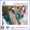 Semi-Automatic Hydraulic Horizontal Baler Compacting Cardboard