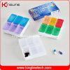 6 케이스 (KL-9028)를 가진 플라스틱 Pill Box