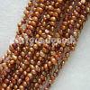 Perla (granos flojos de la perla de agua dulce de 4m m Champán)