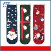 多彩なクリスマスファブリック100%年の綿の管のギフトのソックス