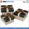 2017 Venta caliente papel cuadrada Caja de regalo con cinta de opciones