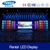 Pantalla de visualización a todo color de interior de LED de la etapa del buen precio P5 1/16s