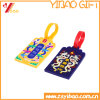 La mode en PVC souple Luggage Tag avec logo en relief (YB-LY-LT-31)
