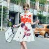 Новое стильное вскользь платье женщин лета