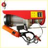 Élévateur électrique de câble métallique de PA du marché de certificat européen de la CE mini