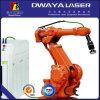 Soldadora óptica robótica de laser de fibra