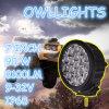 Os caminhões redondos do barco das luzes de condução 4X4 do diodo emissor de luz do poder superior 90W, trabalho do diodo emissor de luz iluminam 90W 7inch