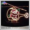 Luz decorativa de Holidaygarden da pesca do diodo emissor de luz 2D Papai Noel do Natal