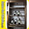 Cremagliera del vino della cremagliera della mensola di visualizzazione del vino dell'acciaio inossidabile