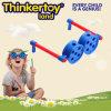 La nouveauté à l'intérieur des blocs de construction de verre de jouets