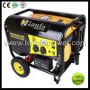 5kw 6.5kVA traite et roule le générateur portatif d'essence d'alternateur de cuivre de 100%
