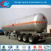 3 Radachse LPG Semi-Trailer 50cbm LPG Tanker Trailer 50m3