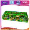 Campo de jogos interno comercial do tema engraçado da selva para crianças
