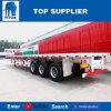 Véhicule de titan remorque de plate-forme de conteneur de 40 pi à vendre