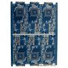 3.0m m 4 capas de la tarjeta de circuitos impresos azul con el dedo del oro