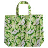 緑のAppleの100%年の綿のショッピング・バッグ