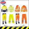 Куртки безопасности Анти--Пожара CE En471 одежды померанцовой зеленой желтой отражательные