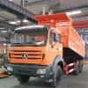 Autocarri con cassone ribaltabile automatici da vendere l'autocarro con cassone ribaltabile del carraio di Beiben 10
