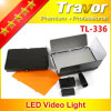 com luz do vídeo do diodo emissor de luz do profissional Tl-336 do diodo emissor de luz 336PCS