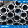 Calidad 316 gruesa pared de acero inoxidable integrada ronda los tamaños de tubos