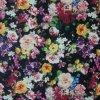 Élevé-densité PVC/PU Flower Printing Polyester Fabric (XLT-FL) d'Oxford 600d