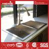 Oberseite-Montierungs-Gleichgestellt-Doppelt-Filterglocke-handgemachte Küche-Wanne des Edelstahl-32  X19