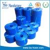 Tuyau plat de Layflat de jardin de tissu bleu de PVC