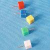 يلوّن بلاستيكيّة مثلّثيّة دفع [بين] قرطاسيّة ([قإكس-هب008]) [920مّ]