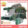 Maquinaria de la fabricación de papel de Napking, máquina de papel de balanceo del tocador