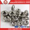 Ss304 écrou hexagonal de l'acier inoxydable DIN439, écrou mince